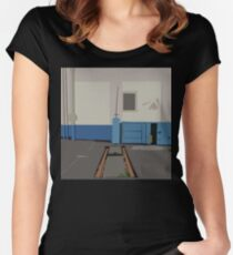 0171 Insider tracks Women's Fitted Scoop T-Shirt