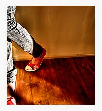 Red Shoes No. 1 Photographic Print