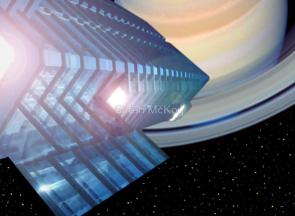 The Rings of Saturn by Sarah McKoy