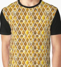 Golden scales Graphic T-Shirt