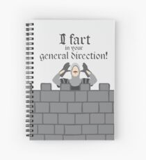French Taunting Guard Spiral Notebook