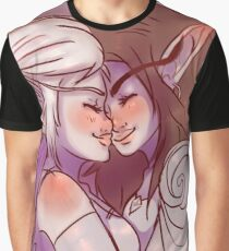 Elven Snuggles Graphic T-Shirt