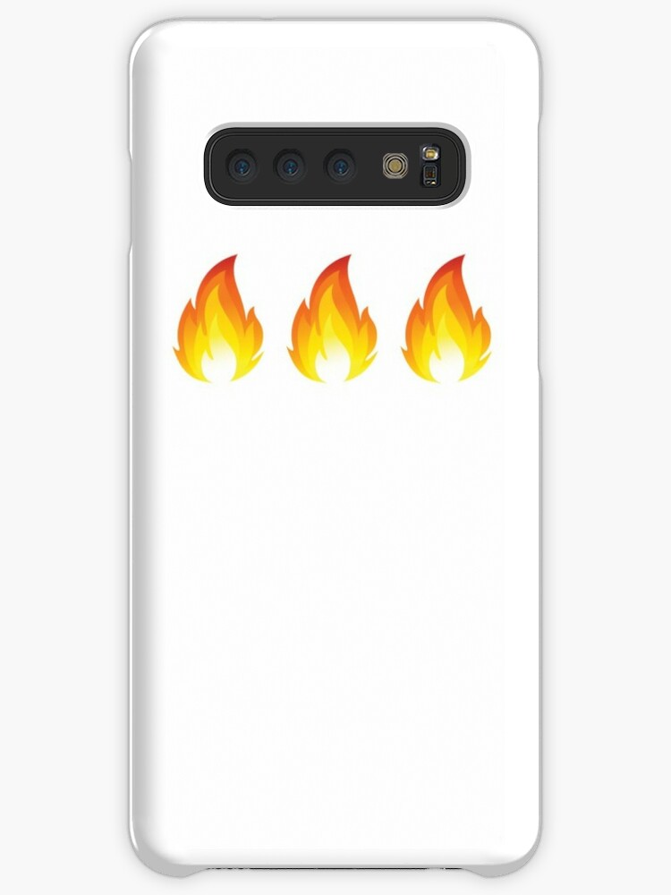 where is the fire emoji on samsung