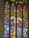 Angels in St Barbara's Church by Graeme  Hyde