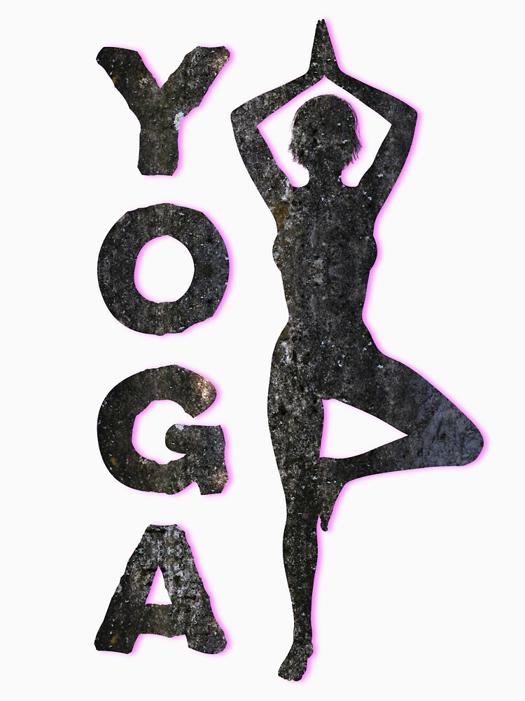 Yoga Meditating Female Vrikshasana Tree Pose by MarkUK97