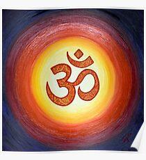 OM Mandala Poster