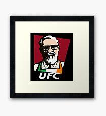 KCF UFC mcgregor Framed Print