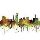 Lansing, Michigan Skyline von Marlene Watson
