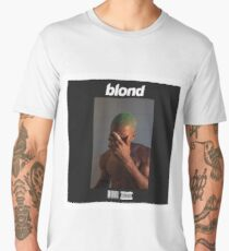 Frank Ocean- Blond (Black) Men's Premium T-Shirt