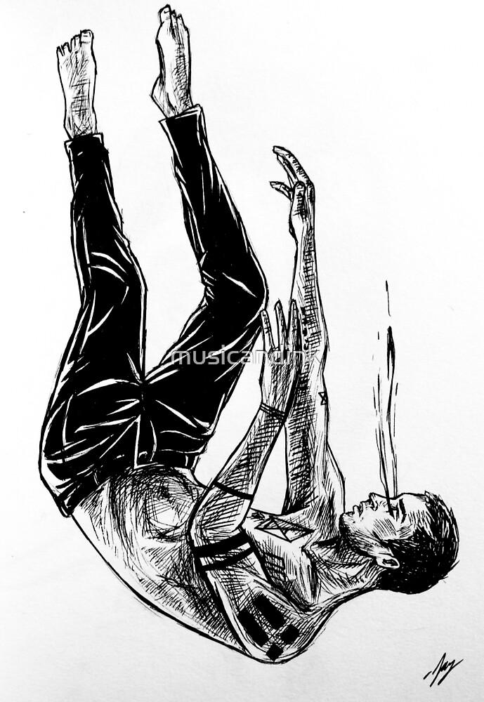 Falling by musicandink