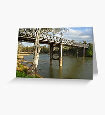 Murray River at Corowa Greeting Card