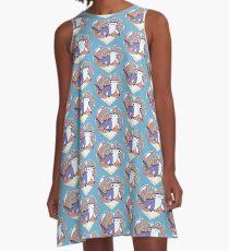 NIBBLE the Hammerhead Shark A-Line Dress