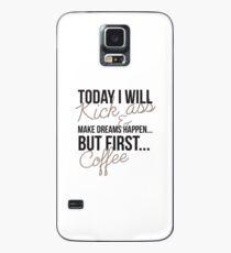 Coffee Humour - 02 Case/Skin for Samsung Galaxy