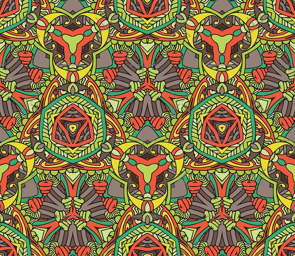 Retro abstract pattern by Zand