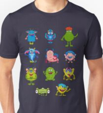Gang of funny monsters. T-Shirt