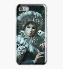 Owls Talk - dedicated to Heather King iPhone Case/Skin