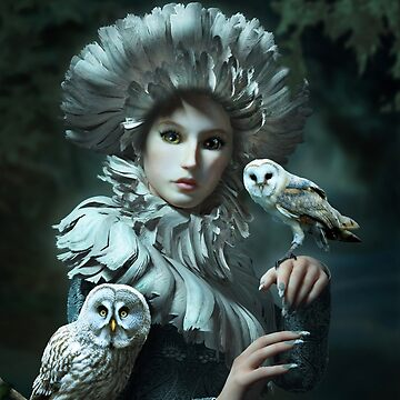 Owls Talk - dedicated to Heather King by BrittaGlodde