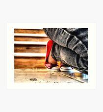 Red Shoes No. 2 Art Print