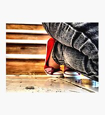 Red Shoes No. 2 Photographic Print