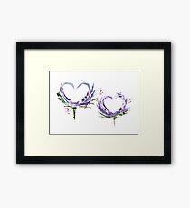Сouple in love Framed Print