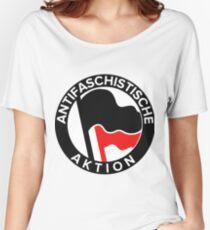 Antifa Logo Women's Relaxed Fit T-Shirt