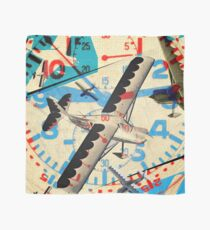 COLLAGE aircraft aviation Scarf