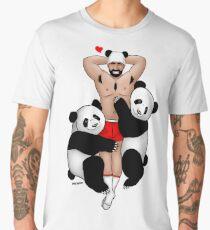 Bare Beef Tees, Panda Lover Men's Premium T-Shirt