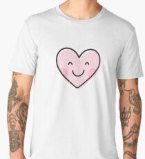 Cute heart emoji Men's Premium T-Shirt