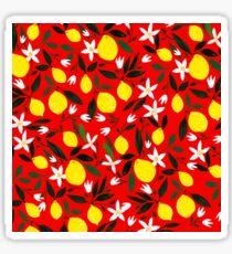 Lemons Red Sticker