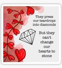 Tears to Diamonds — George Watsky Sticker
