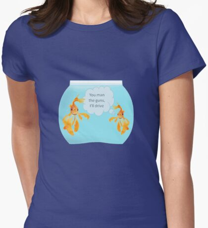 There Were Two Goldfish In A Tank Joke T-Shirt