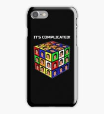 Funny Rubiks Cube It's Complicated! iPhone Case/Skin