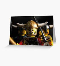 Vikings on the Rampage! Greeting Card