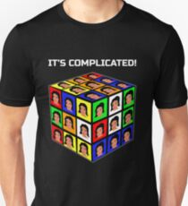 Funny Rubiks Cube It's Complicated! T-Shirt