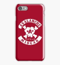 AVALANCHE : Inspired By Final Fantasy VII iPhone Case/Skin