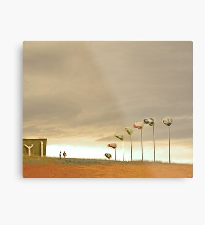 The Kindness of Strangers Metal Print