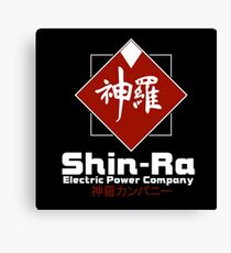 Shinra Electric Power Company : Inspired by Final Fantasy VII Canvas Print