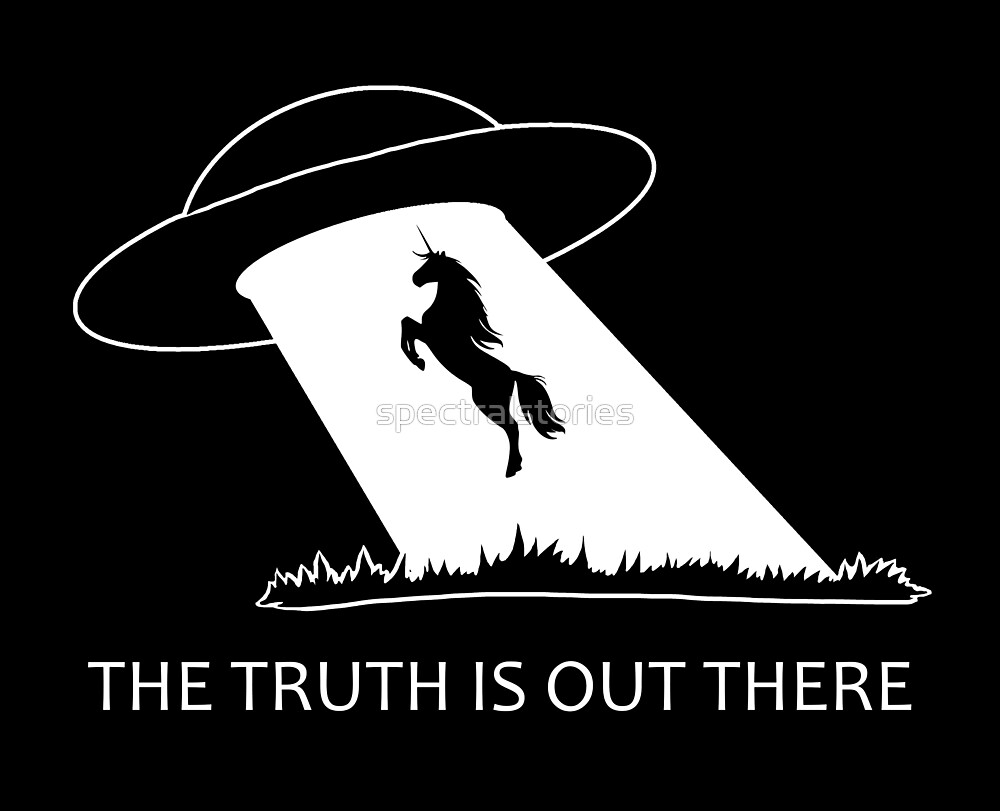 The truth is out there - Unicorn  by spectralstories