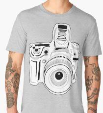 Black and White Camera Men's Premium T-Shirt