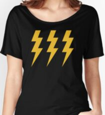 Lightening Strikes Three Times Women's Relaxed Fit T-Shirt