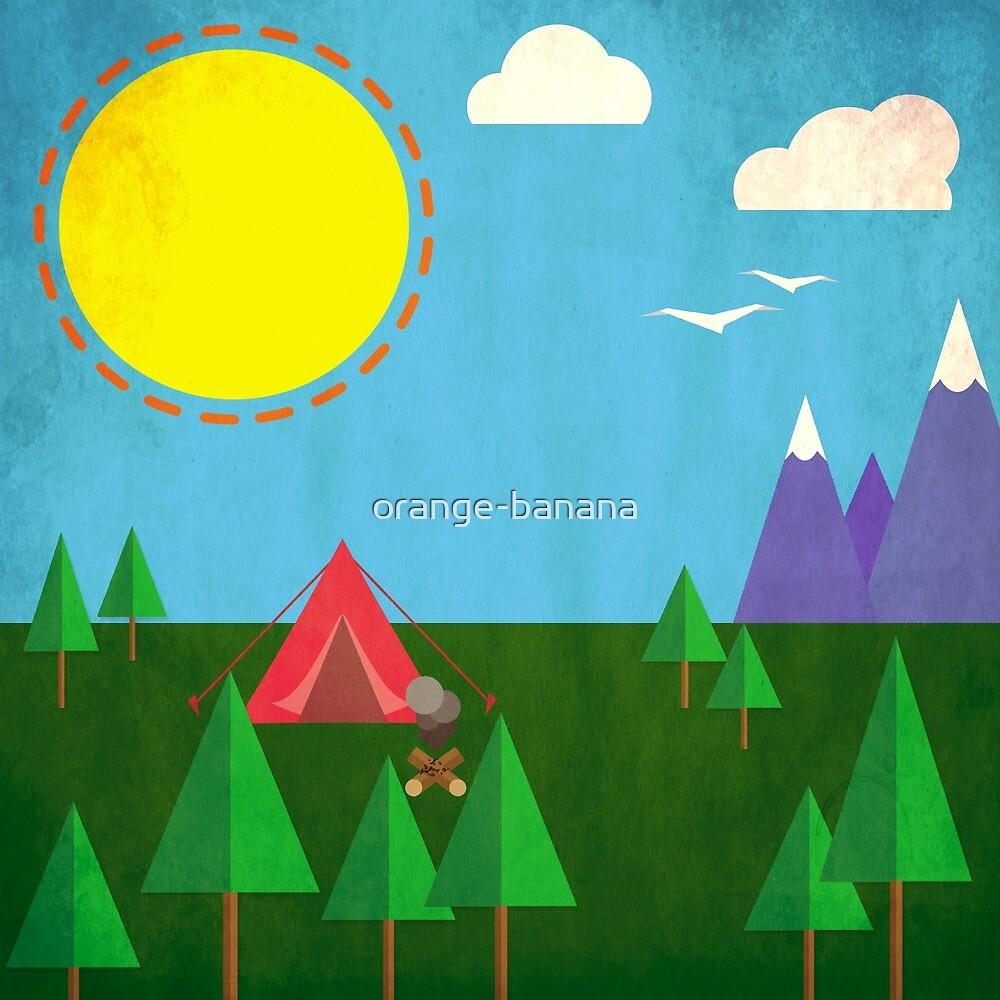 Minimal Camp (Day) by orange-banana