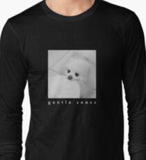 Gentle Snacc Tortilla Dog - white text T-Shirt