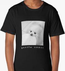 Gentle Snacc Tortilla Dog - white text Long T-Shirt