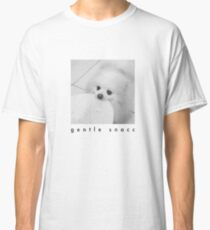Gentle Snacc Tortilla Dog - black text Classic T-Shirt