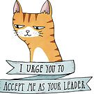 Your Leader by agrapedesign