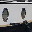 Starboard port holes by Paul Pasco