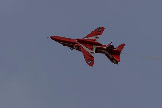 Red Arrows Hawk T1 by Daveb771