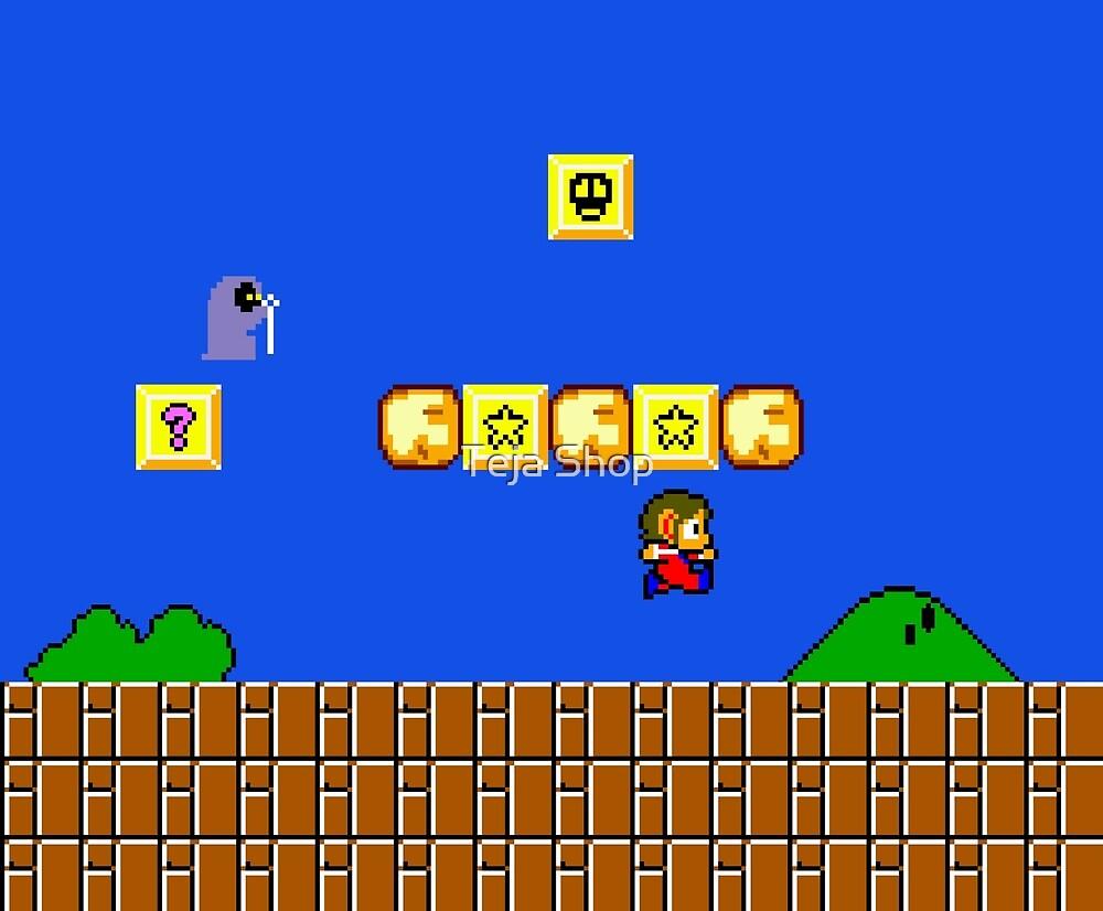 Alex Kidd in Mario World by Alteja