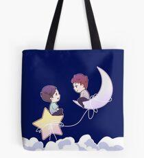 Dan and Phil in the Sky  Tote Bag