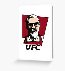 KFC - UFC Greeting Card